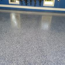 Royal Epoxy Garage Floor in the Palm Coast Area